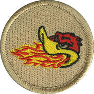 Fire Breathing Duck Patrol Patch