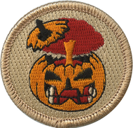 Exploding Pumpkins Patrol Patch