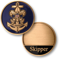 Sea Scouts Skipper Coin- DISCONTINUED