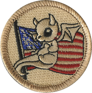 American Dragon Patrol Patch