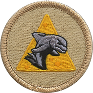 Cheesy Chip Dolphin Patrol Patch