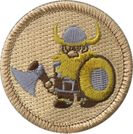 Armed Viking Patrol Patch