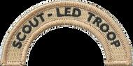 Scout-Led Troop Rocker (Top)