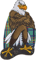 Wood Badge Tough Eagle Critter Patch