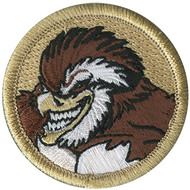 Tough Bobwhite Patrol Patch