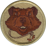 Official Licensed Wood Badge Beaver with Beads Patrol Patch