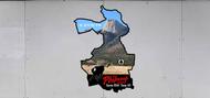 Custom Philmont Trek Map Troop Trailer Graphic (SP6684)
