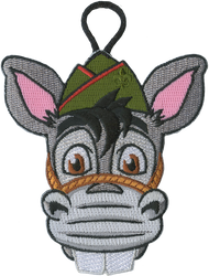 Pedro Critter Head Patch