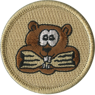Hungry Beaver Patrol Patch