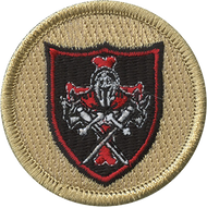 Immortal Crusaders Shield Patrol Patch