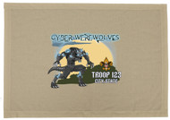 Custom Cyber Werewolf Troop Patrol Flag (SP6905)