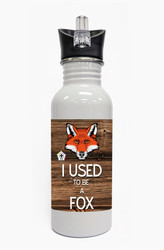 Wood Badge Fox Critter Water Bottle SP6935