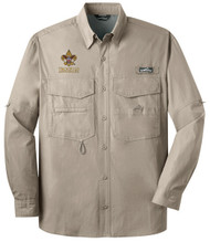 Eddie Bauer® – Long Sleeve Fishing Shirt  with BSA Universal Logo