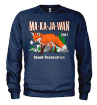 50/50 Sweatshirt  - Your Scout Reservation 2017*