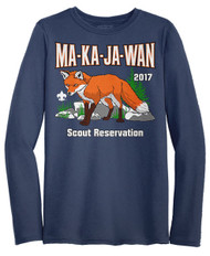 Wicking Long Sleeve Tee - Your Scout Reservation 2017*