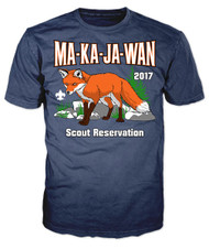 100% Cotton Short Sleeve T-Shirt - Your Scout Reservation 2017