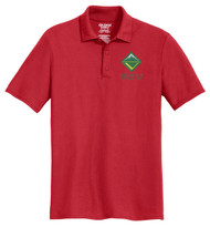 Cotton Pique Polo– Mens with Venturing Logo