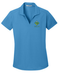 Dry Zone® Grid Ladies Wicking Polo with Venturing Logo