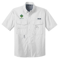 Eddie Bauer® – Short Sleeve Fishing Shirt  with Venturing Logo