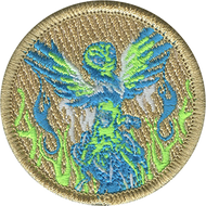 Alien Phoenix Patrol Patch