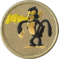 Fire Breathing Monkey Patrol Patch