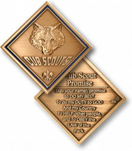 Cub Scout Promise Coin- DISCONTINUED