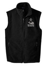 Port Authority® Fleece Vest with Powder Horn Logo