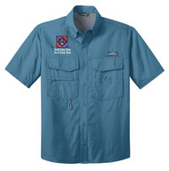 Eddie Bauer® – Short Sleeve Fishing Shirt  with NYLT Logo