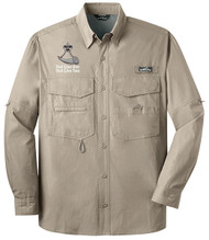 Eddie Bauer® – Long Sleeve Fishing Shirt  with Powder Horn Logo