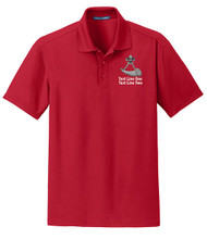 Dry Zone® Grid Wicking Polo with Powder Horn Logo