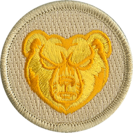 Gold Grizzlies Patrol Patch