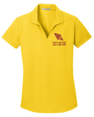 Dry Zone® Grid Ladies Wicking Polo with OA Arrowhead Logo