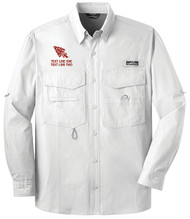 Eddie Bauer® – Long Sleeve Fishing Shirt  with OA Arrowhead Logo