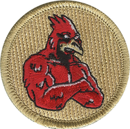 Cosmic Cardinal Patrol Patch