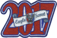 2017 Eagle Scout Letterman Jacket Chenille Patch