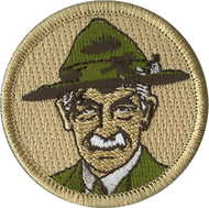 Official Licensed Vintage Baden Powell Patrol Patch