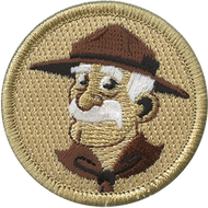 Official Licensed Cartoon Baden Powell Patrol Patch
