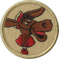 Official Licensed Pedro The Mail Burro Patrol Patch