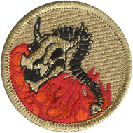 Dragon Blazer Patrol Patch