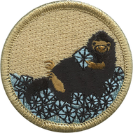Diamond Mole Rat Patrol Patch