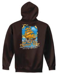 50/50 Hooded Sweatshirt - Treasure Valley Scout Reservation 2019