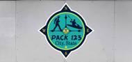 Custom Cub Scout Pack Compass Trailer Graphic (SP6985)