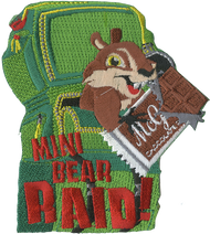 Mini Bear Raid Patch