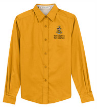 Port Authority® Ladies Long Sleeve Easy Care Shirt with Sea Scout Logo