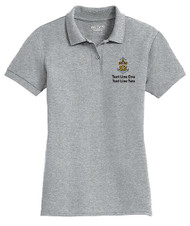 Cotton Pique Polo – Ladies with Sea Scout Logo