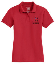 Cotton Pique Polo  – Ladies with Exploring Logo