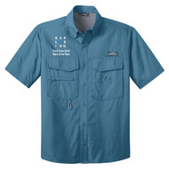 Eddie Bauer® – Short Sleeve Fishing Shirt  with Exploring Logo