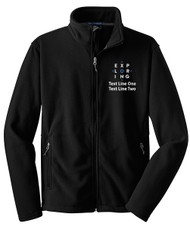 Port Authority Value Fleece Jacket with Exploring Logo