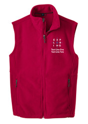 Port Authority® Fleece Vest with Exploring Logo