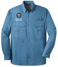 Eddie Bauer® – Long Sleeve Fishing Shirt  with Sea Base Logo